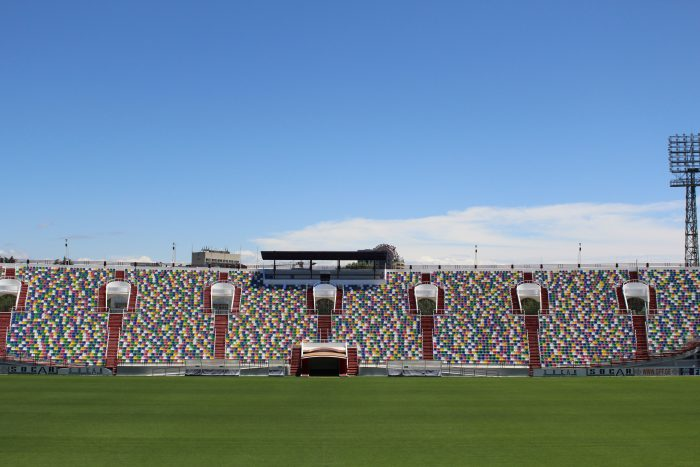 Seats Installation on Mikhel Meskhi Stadium